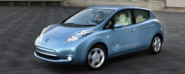 Obiectiv Renault - Nissan: 1,5 milioane de masini electrice vandute pana in 2015