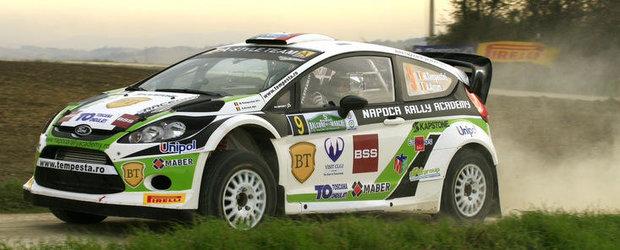 Obiective indeplinite pentru Napoca Rally Academy in Italia