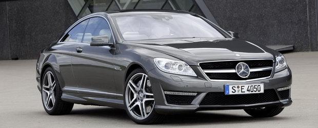Obsesia Biturbo: Mercedes prezinta noile CL63 si CL65 AMG
