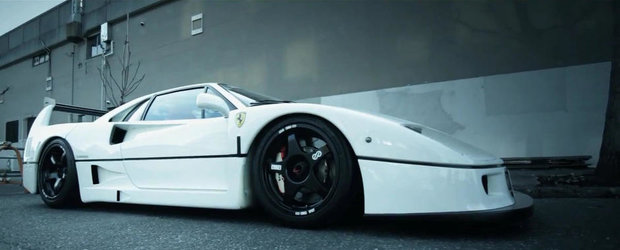 Obsesia pentru perfectiune: Ferrari F40 by Liberty Walk