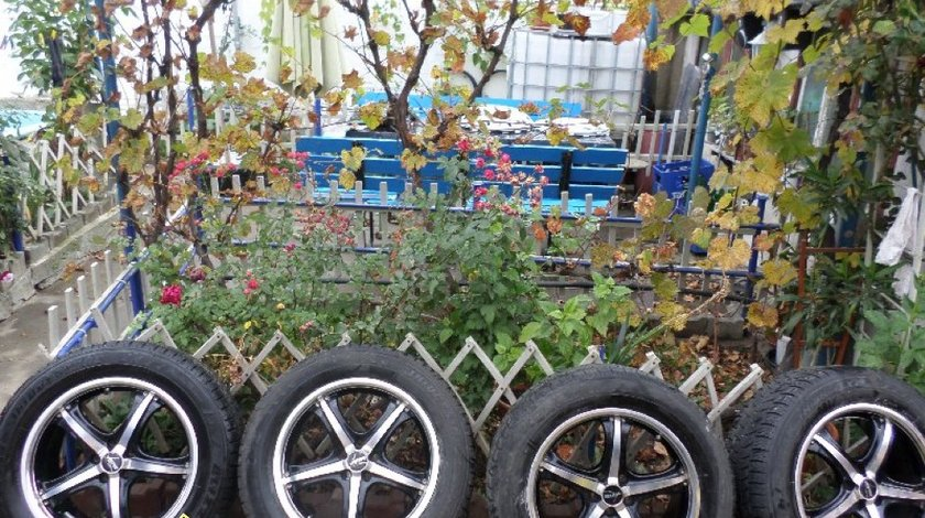 Ocazie set de 4 jante de aliaj marca Autec pe 18 pentru Volvo XC cu tot cu anvelope de iarna marimea 235 60 R18 la doar 500 EURO