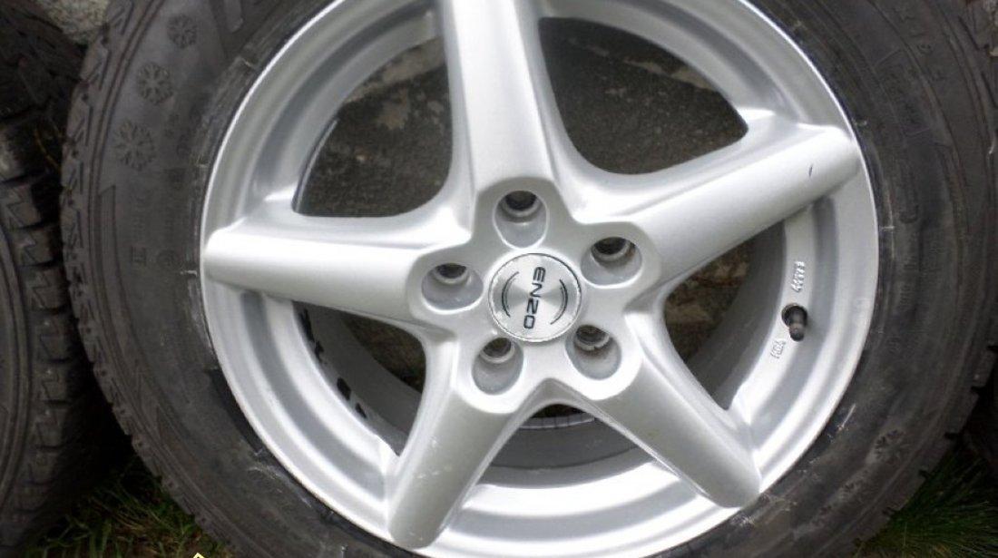 Ocazie set de 4 jante de aliaj pe 16 pentru VW T5 cu tot cu anvelope de iarna marimea 205 65 R16C la doar 400 EURO