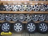 Ocazie set de 4 jante originale VW Touareg pe 17 cu tot cu anvelope de iarna marimea 235 65 R17 la doar 500 EURO