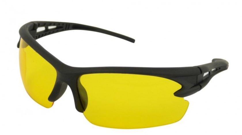 Ochelari pentru condus pe timp de noapte si pe timp de ploaie, cu lentile galbene