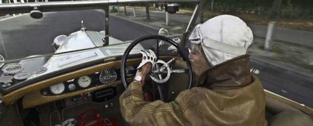 Ocolul pamantului la 75 de ani, cu o masina din 1921. Si este o batranica!