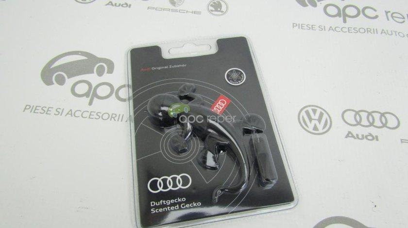 Odorizant Auto - Gecko Audi Original - Black - negru - ,,Aromatic / Woody''
