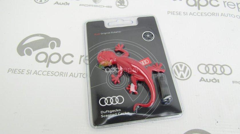 Odorizant Auto - Gecko Audi Original - Red - Rosu - ,,Flowery - Herb''