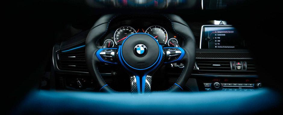 Oferta BMW nu a fost de ajuns. Si-a cumparat un X6 M si l-a dat pe mainile celor de la VILNER