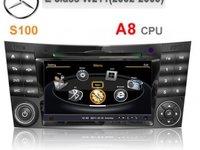OFERTA!NAVIGATIE DEDICATA MERCEDES BENZ E CLASS W211 CLS W219 EDOTEC EDT-C090 PLATFORMA S100 DVD GPS
