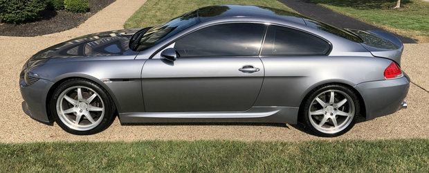Oferta pe care nu o poti refuza. Cu cat se vinde acest BMW M6 cu motor V10 de 5.7 litri