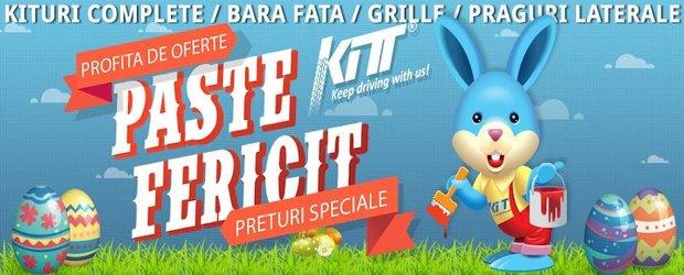 Oferta speciala de Paste de la KITT Romania vine cu mega reduceri