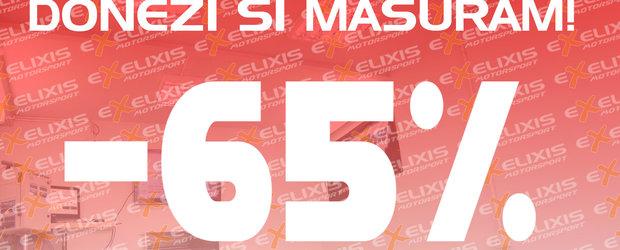 Oferta speciala pentru un scop umanitar: 100 de lei masurarea Dyno la Exelixis