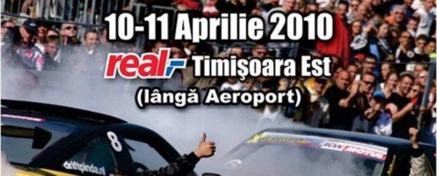 Oficial! A doua etapa din Campionatul de Drift: 10-11 Aprilie, Timisoara