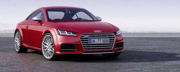OFICIAL: Acesta este noul Audi TT!