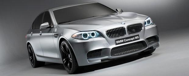 OFICIAL: Acesta este noul BMW M5 Concept!