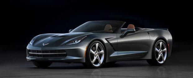 OFICIAL: Acesta este noul Chevrolet Corvette Stingray Convertible!