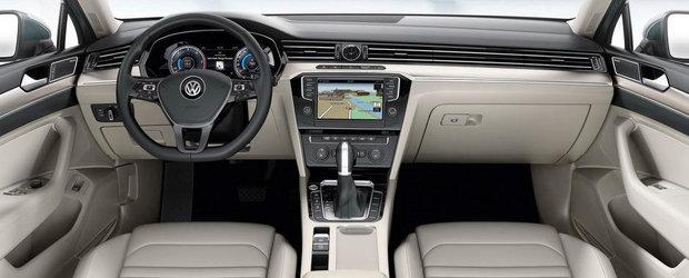 OFICIAL: Acesta este noul Volkswagen Passat B8! GALERIE FOTO si VIDEO