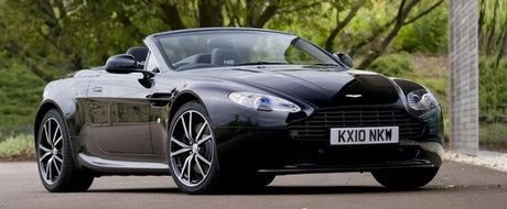 Oficial: Aston Martin prezinta noul V8 Vantage N420 Roadster!
