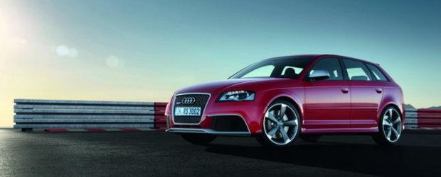 Oficial: Audi dezvaluie noul RS3 Sportback!
