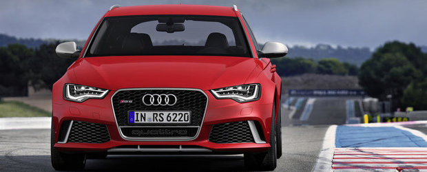 OFICIAL: Audi ne face cunostinta cu noul RS6 Avant!