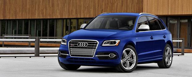 OFICIAL: Audi ne face cunostinta cu noul SQ5 pe benzina