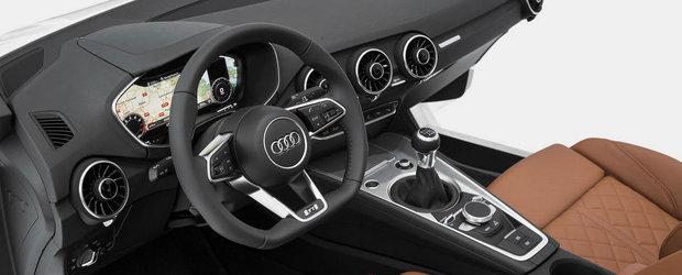 OFICIAL: Audi prezinta interiorul noului TT