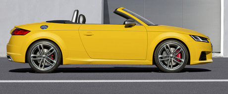 OFICIAL: Audi prezinta noul TT Roadster
