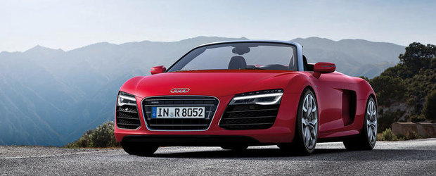 OFICIAL: Audi R8 primeste un facelift subtil, plus o noua versiune de top