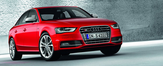 OFICIAL: Audi reimprospateaza gama A4