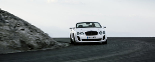 Oficial: Bentley Continental Supersports renunta la acoperis