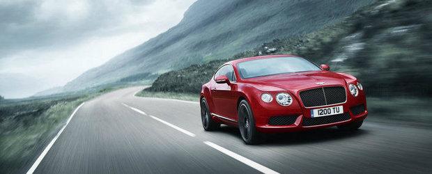 OFICIAL: Bentley dezvaluie noul Continental GT V8!