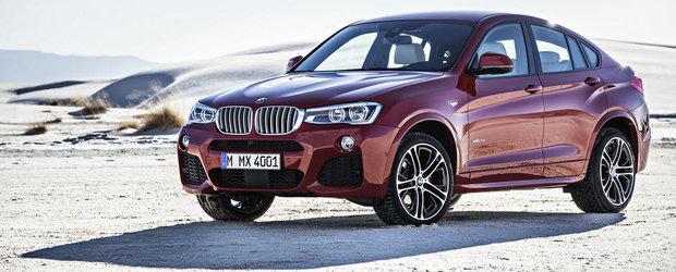 OFICIAL: BMW a dezvaluit noul X4. GALERIE FOTO si VIDEO in ARTICOL