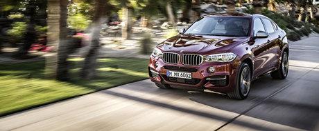 OFICIAL: BMW dezvaluie noul X6. GALERIE FOTO si VIDEO
