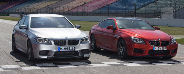OFICIAL: BMW ne face cunostinta cu noile M5 si M6 Competition Package