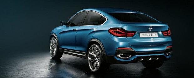 OFICIAL: BMW ne face cunostinta cu noul X4 Concept