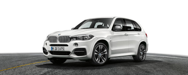 OFICIAL: BMW ne face cunostinta cu noul X5 M50d
