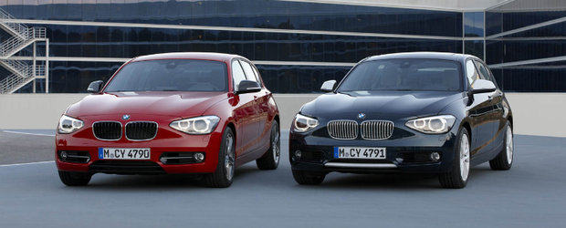Oficial: BMW Seria 1 isi arata noua fata