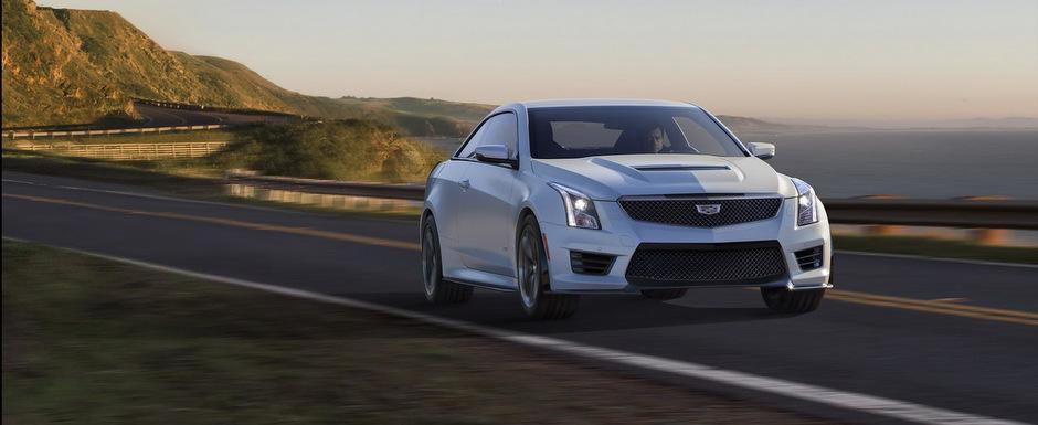 OFICIAL: Cadillac ATS-V porneste pe urmele noilor M3, M4 si C63 AMG