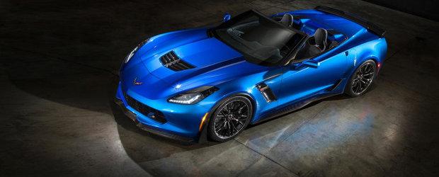 OFICIAL: Chevrolet dezvaluie noul Corvette Z06 Convertible!