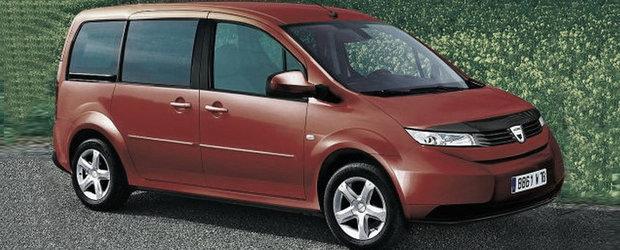 OFICIAL: Dacia lanseaza in 2012 primul monospace romanesc!