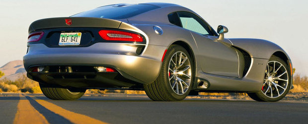 OFICIAL: Dodge Viper primeste mai multa putere, plus noi editii speciale