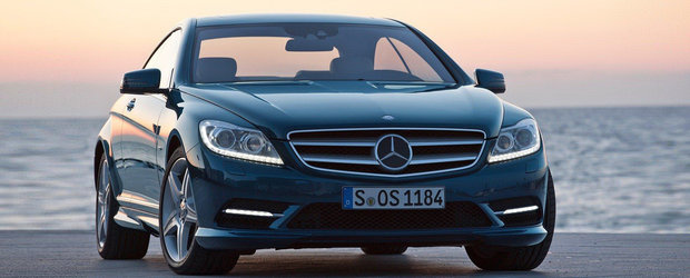 Oficial: Facelift pentru Mercedes CL
