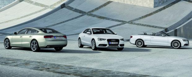 OFICIAL: Facelift pentru toata gama Audi A5, inclusiv modelul S5