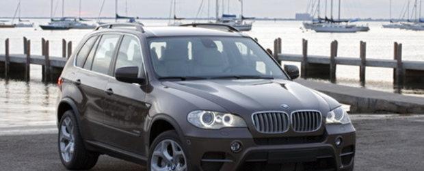 Oficial: Facelift si pentru BMW X5!