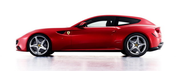 Oficial: Ferrari dezvaluie noul FF, un break cu traditie!