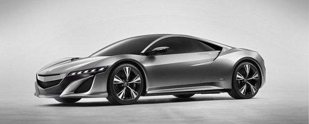 OFICIAL: Honda dezvaluie noul NSX!