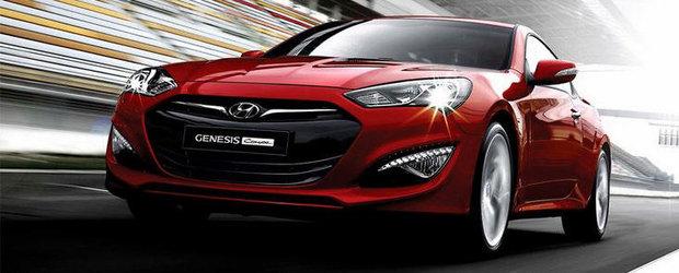 OFICIAL: Hyundai dezvaluie noul Genesis Coupe