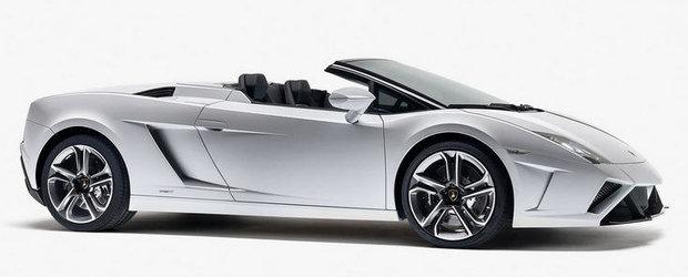 OFICIAL: Lamborghini reimprospateaza gama Gallardo Spyder