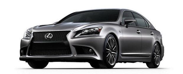 OFICIAL: Lexus ne face cunostinta cu noul LS