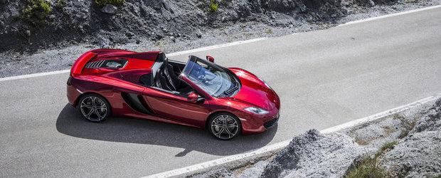 OFICIAL: McLaren ne face cunostinta cu noul MP4-12C Spider